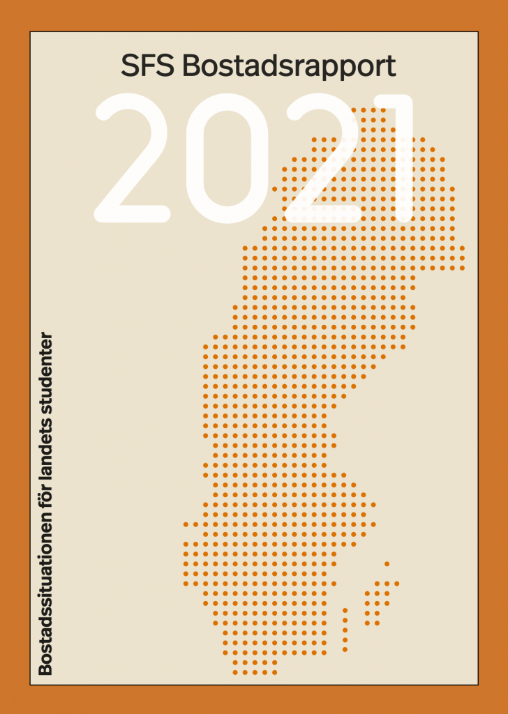 Cover of SFS Bostadsrapport 2021